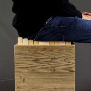 Designermöbel holz  Einzigartige Hocker aus Holz | Woocept Online Store